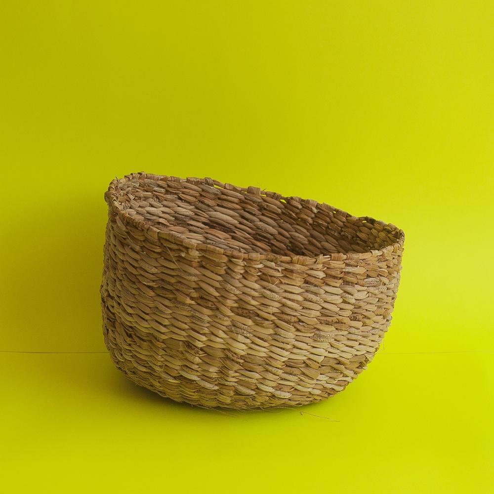 canasta fibra de platano